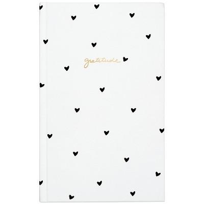 Sugar Paper™ Lined Journal Gratitude Black Hearts
