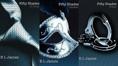 Grey of fifty book shades