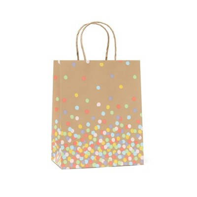 Small Recycled Paper Dots Gift Bag - Spritz™