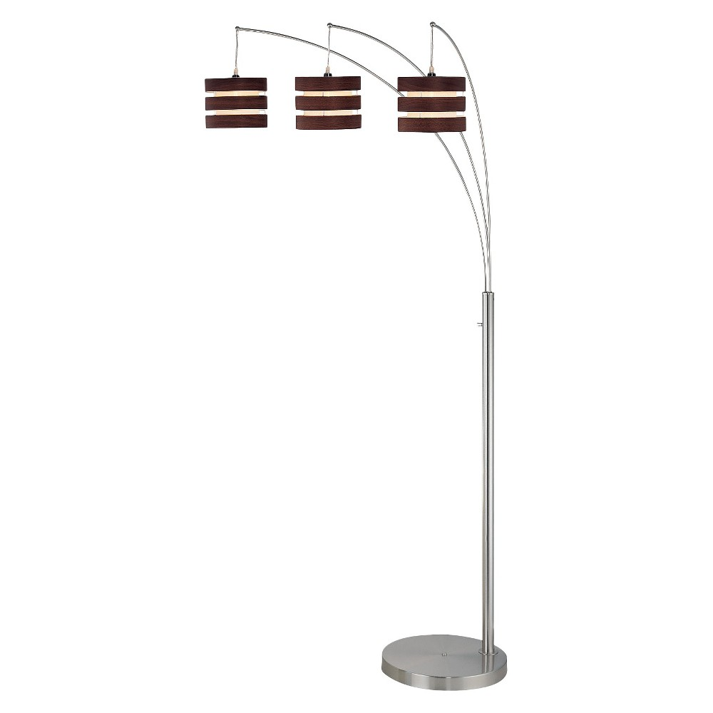 Lite Source Floor Lamp Includes Light Bulb - Brown