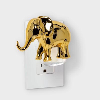 Lucky Gold Elephant Plug-In - Opalhouse™
