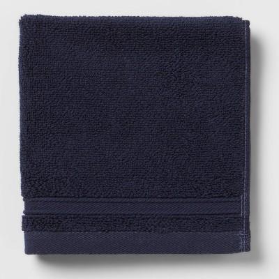 Performance Washcloth Navy Blue - Threshold™