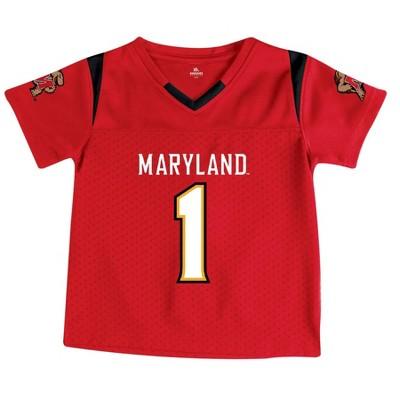 NCAA Maryland Terrapins Toddler Boys' Short Sleeve Jersey