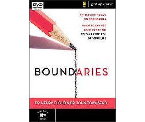 Boundaries : When to Say Yes, How to Say No to Take Control of Your Life (Hardcover) (Henry Cloud) - image 1 of 1