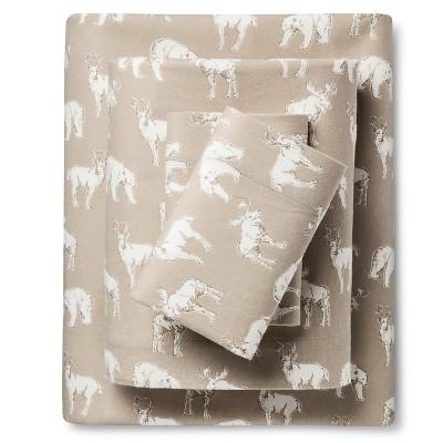 Patterned Flannel Sheet Set - Eddie Bauer