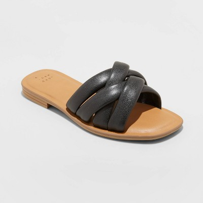 Women's Rory Padded Slide Sandals - A New Day™