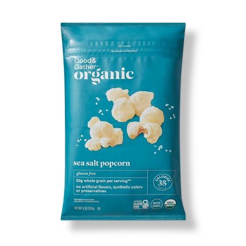 Sea Salt Organic Popcorn - 5oz - Good & Gather™ - image 1 of 3