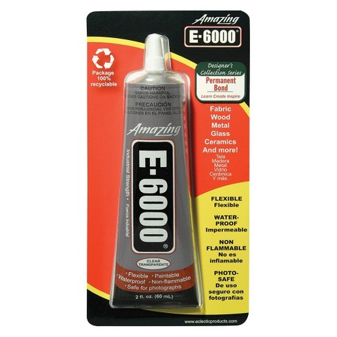 Amazing E-6000 Multi-purpose Craft Glue 2 0-oz