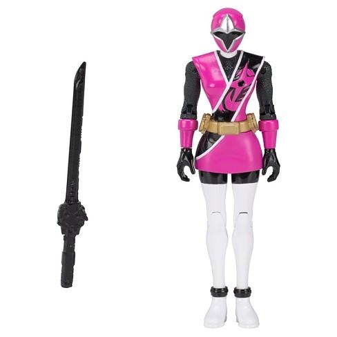 power rangers ninja steel pink ranger action hero target