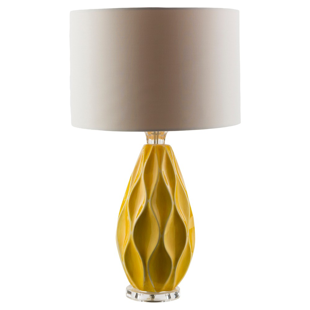 Andrei Table Lamp Yellow (Lamp Only) - Surya