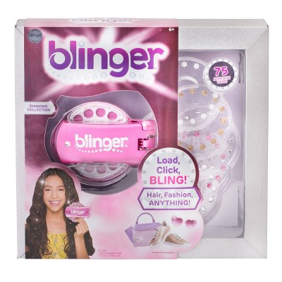 blinger Diamond Collection Bright Pink Jewelry Accessories