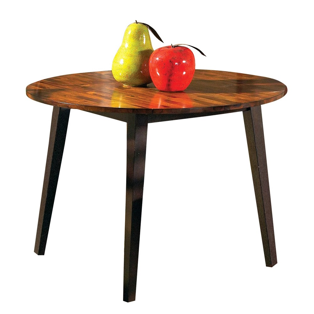 Blair Double Drop Leaf Table Cherry (Red) - Steve Silver