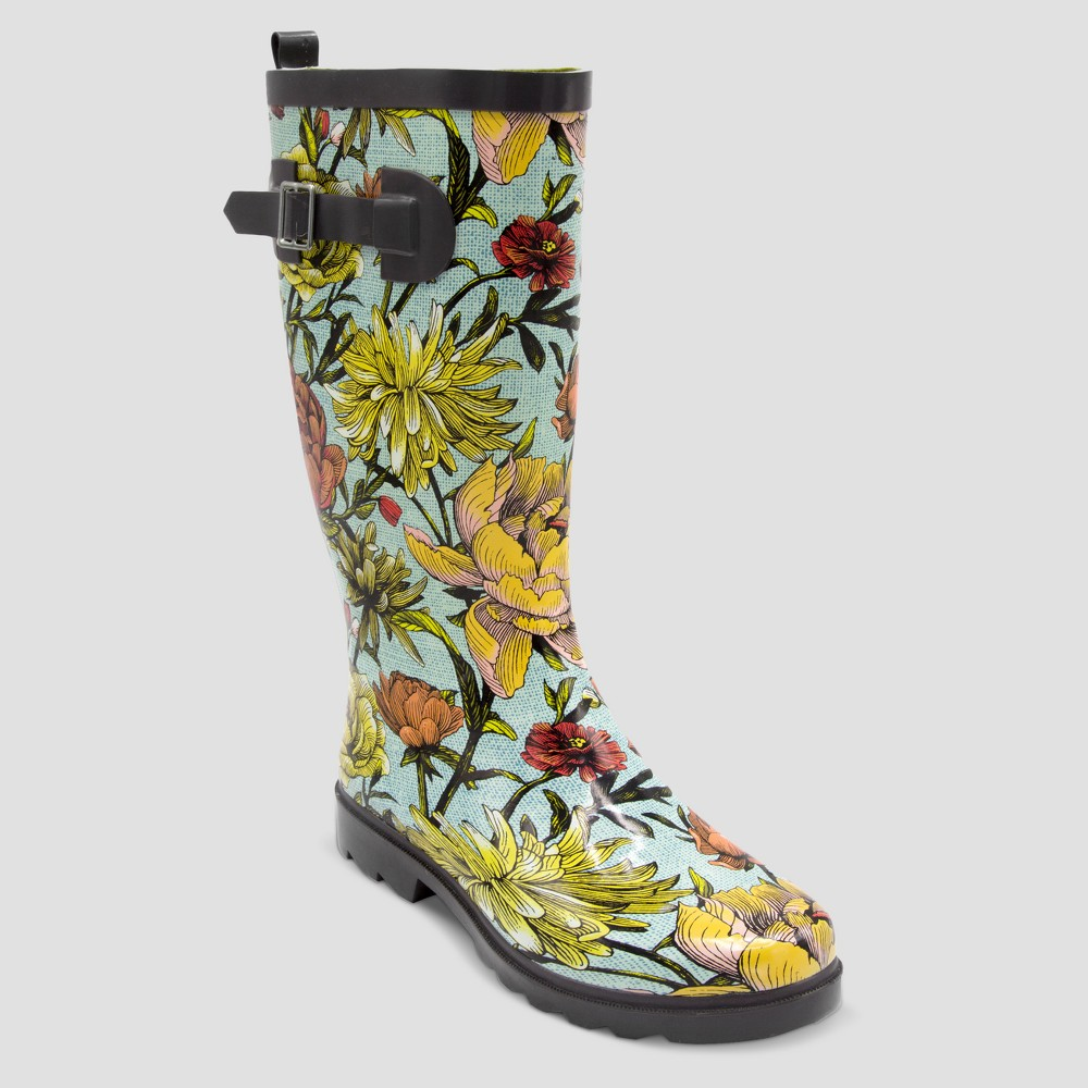 Size 9 Tall Garden Boot - Apple Blossom - Threshold