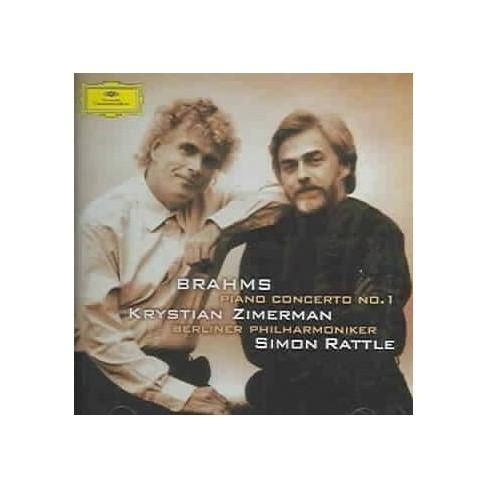 Brahms - Brahms: Piano Concerto No. 1 (CD) - image 1 of 1