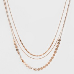 ae1f7e74495 Rectangular Bar Short Necklace (16