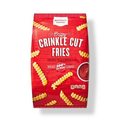 Frozen Crinkle Fries - 32oz - Market Pantry™