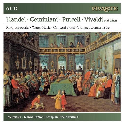 Albinoni - Royal Fireworks/Water Music/Concerti Grossi/Trumpet Concertos (CD) - image 1 of 1