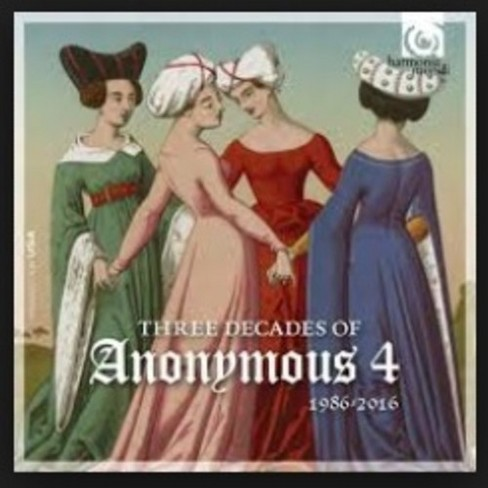 Anonymous 4 - Three Decades Of Anonymous 4 (CD) - image 1 of 1