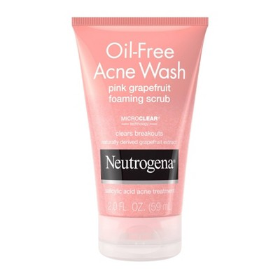 Neutrogena Pink Grapefruit Face Scrub - 2 fl oz