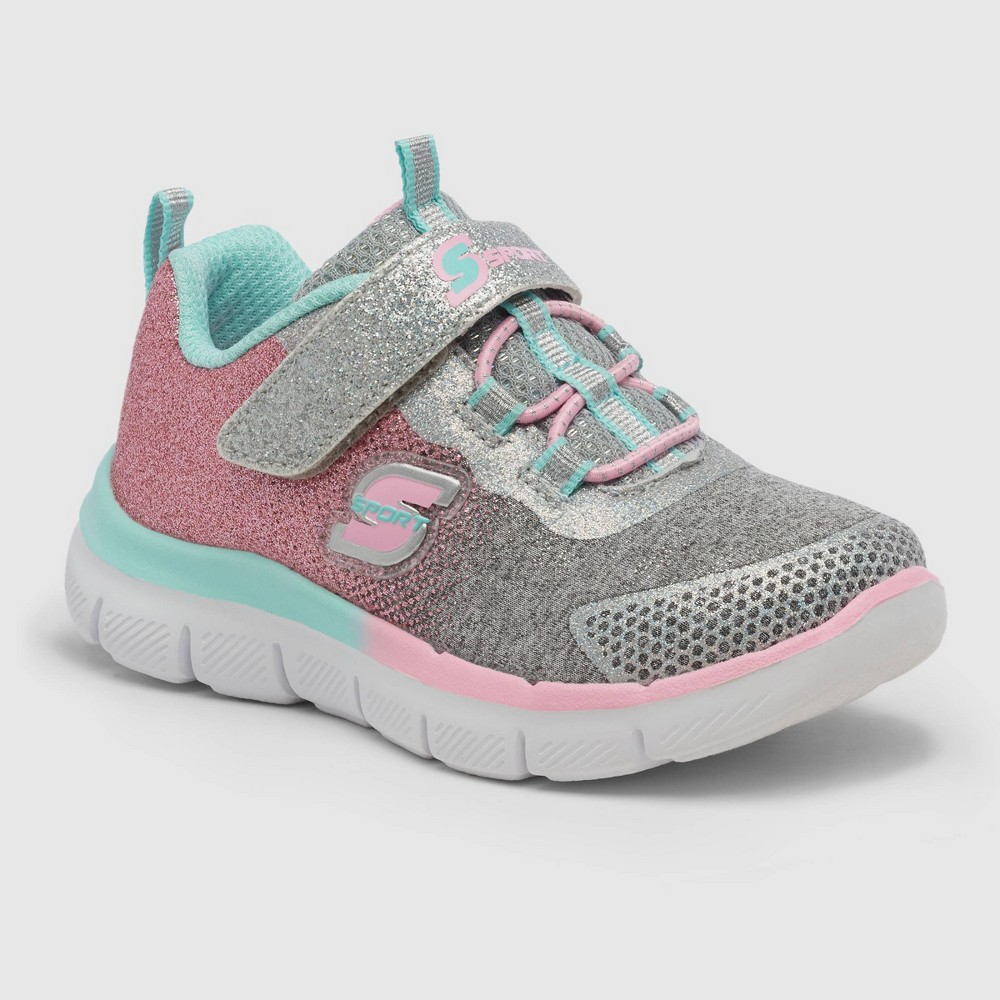 Toddler Girls 39 S Sport By Skechers Bethanie Glitter Sneakers Pink 6