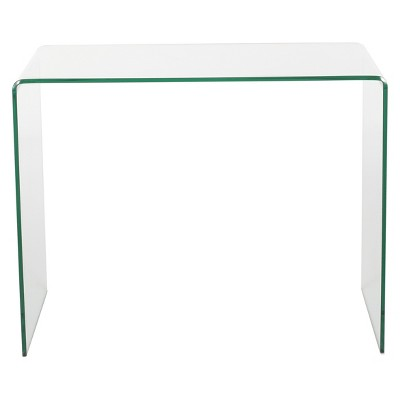 Caradoc Tempered Glass Side Table - Clear - Christopher Knight Home