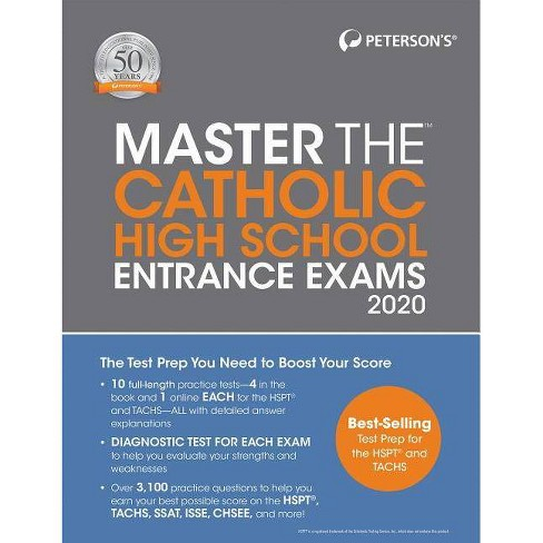 Best Books For Middle Schoolers 2020 Master The Catholic High School Entrance Exams 2020   24 Edition