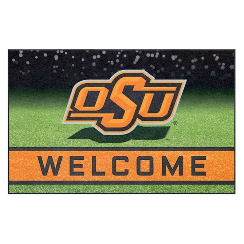 "NCAA Oklahoma State Cowboys Crumb Rubber Door Mat 18""x30"" - image 1 of 4"