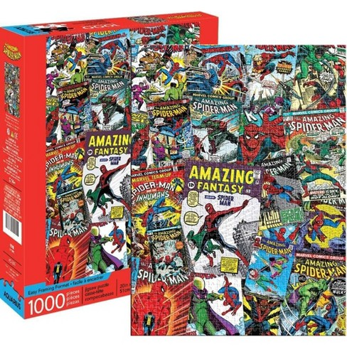 NMR Distribution Marvel Spider-Man Collage 1000 Piece Jigsaw Puzzle - image 1 of 3
