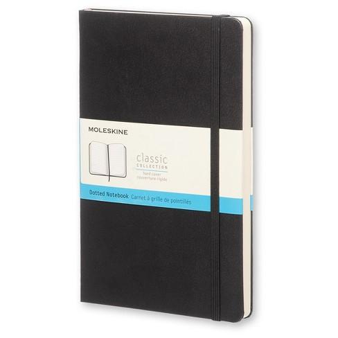 Moleskine Dotted Notebook - Black Hardcover - image 1 of 3