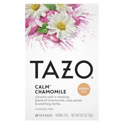 Tazo Calm Chamomile Herbal Tea - 20ct