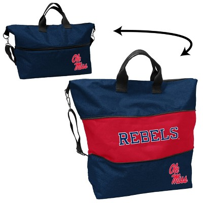 NCAA Ole Miss Rebels Crosshatch Expandable Tote