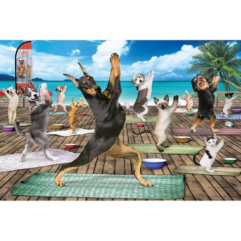 Eurographics Inc. Yoga Spa 300 Piece XL Jigsaw Puzzle - image 1 of 4