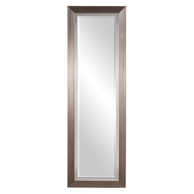 Rectangle Chicago Decorative Wall Mirror Silver - Howard Elliott