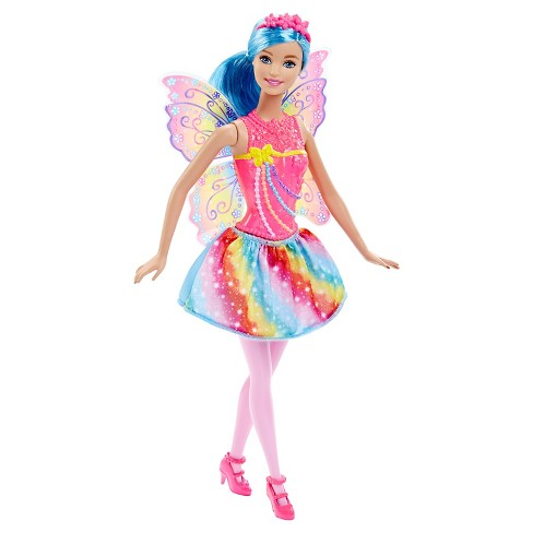 Barbie Fairytale Fairy Rainbow Fashion Doll - image 1 of 7