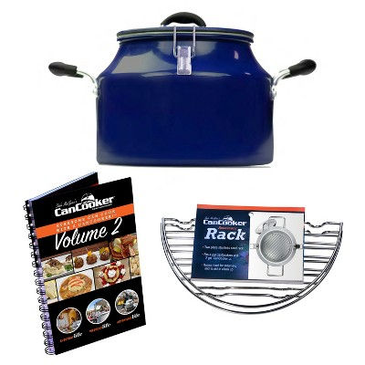 CanCooker Signature Series Convection Steam Cooker Set with Rack and Cookbook