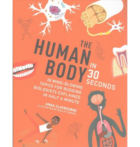 Human Body in 30 Seconds (Reprint) (Paperback) (Anna Claybourne) - image 1 of 1
