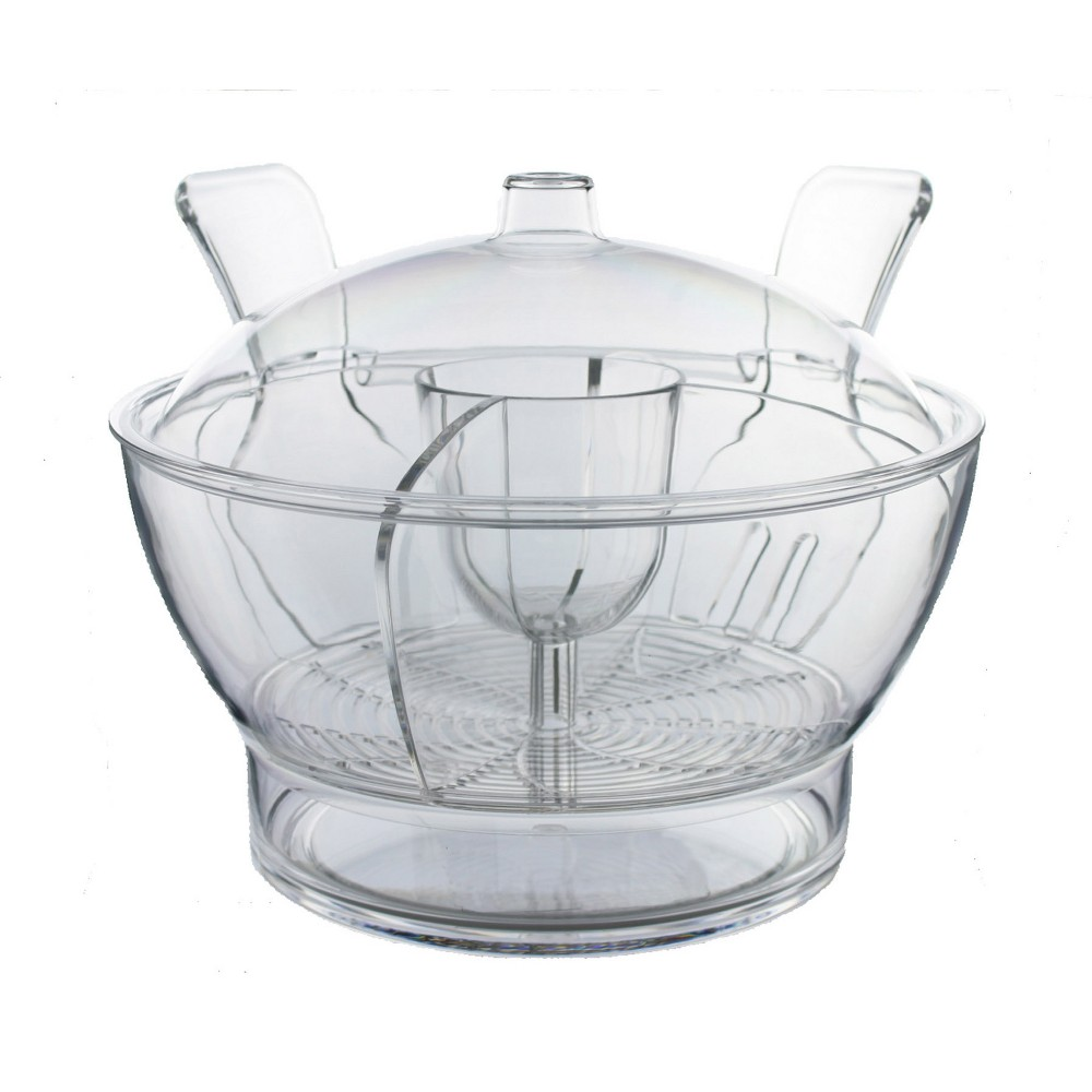 Prodyne Cold Bowl on Ice, Clear