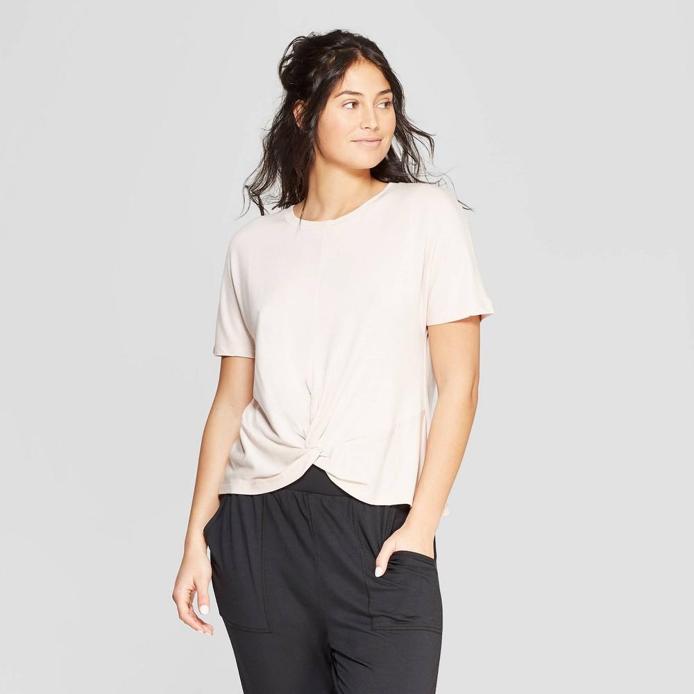 Women's Beautifully Soft Sleep T-Shirt - Stars Above Pink M