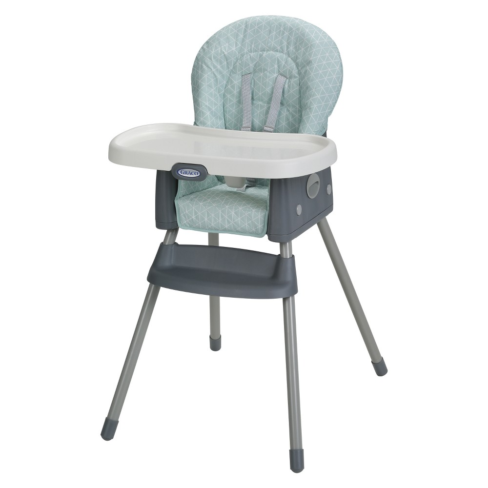 Image of Graco Simple Switch High Chair - Winfield, Gray