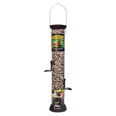 "Droll Yankees Onyx Clever Clean 18"" Sunflower/Mixed Seed Feeder - Black - image 1 of 1"