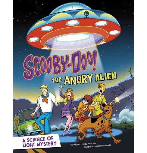 Scooby-Doo! A Science of Light Mystery : The Angry Alien (Paperback) (Megan Cooley Peterson) - image 1 of 1