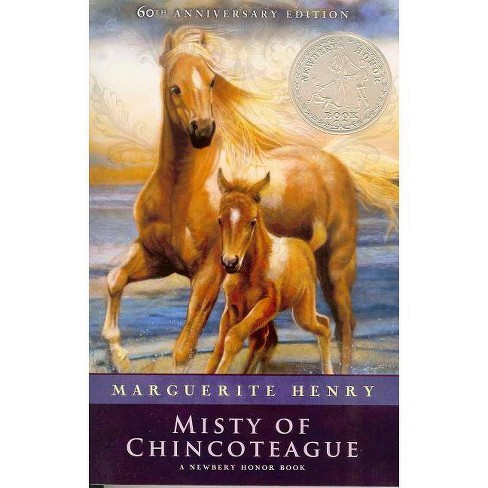 Misty of Chincoteague - 60 Edition by  Marguerite Henry (Hardcover) - image 1 of 1