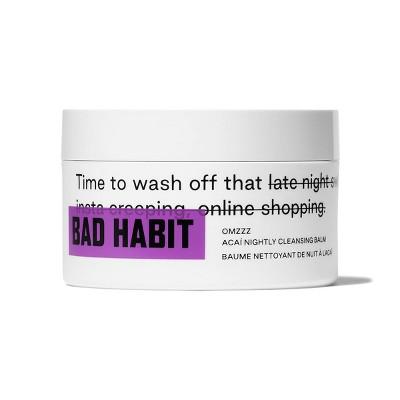 Bad Habit Omzzz Acai Nightly Cleansing Balm - 3.38oz - Ulta Beauty