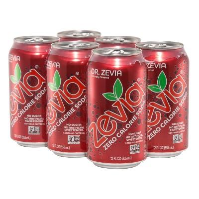 Zevia Dr. Zevia Zero Calorie Soda - 6pk/12 fl oz Cans