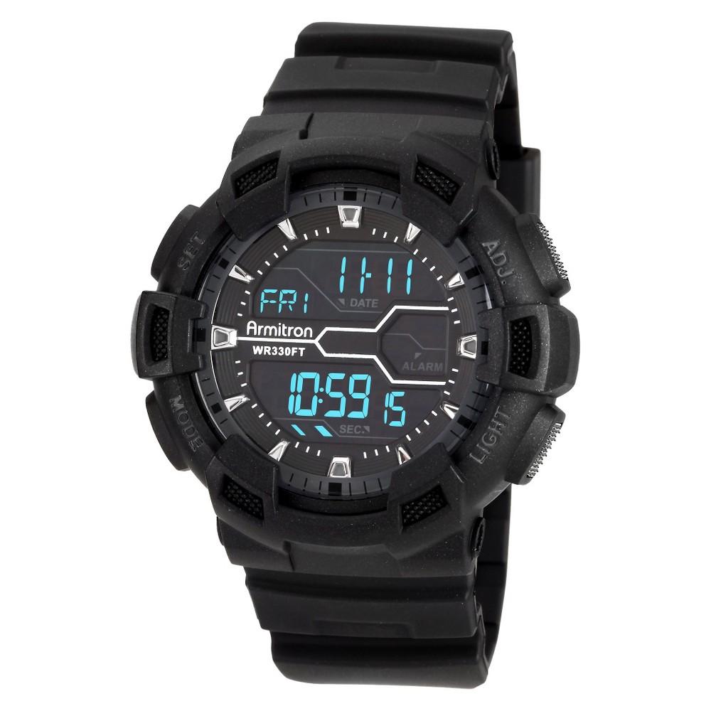 Men's Armitron Digital Sport Watch - Black