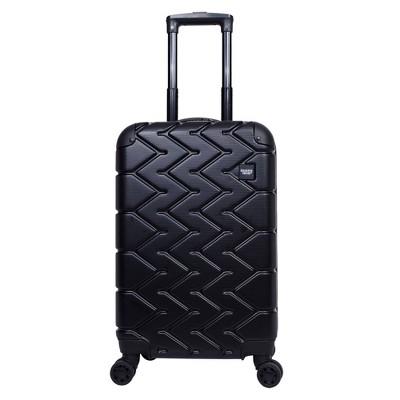 Sharper Image 20  Hardside Spinner Carry On Suitcase - Black