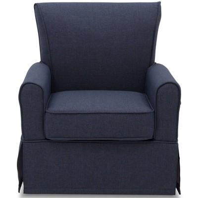 Delta Children Epic Nursery Glider Swivel Rocker Chair - Sailor Blue