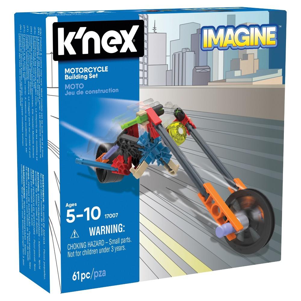 K'nex Motorcycle Building Set - 61pc