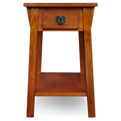 Favorite Finds Mission Chairside Table Russet Finish - Leick Home - image 1 of 9