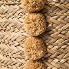 Braided Seagrass Round Basket Natural - Opalhouse™ - image 3 of 3